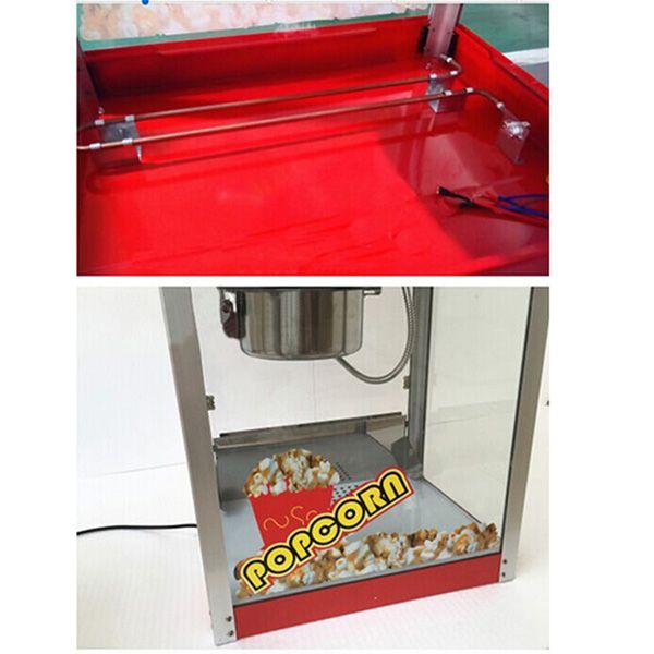 commercial pink kettle popcorn popper maker