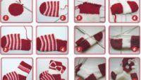 Örgü Çorap Modelleri ve Yapılışı