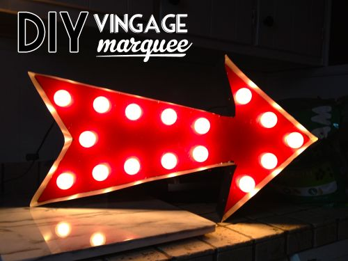 17 best images about marquee lights diy on pinterest for Flashing arrow sign letters