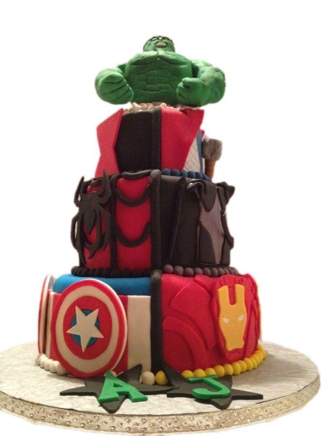 Avengers Cake Decorations   ... Smash Thor Cake Decorating Community Cakes We Bake Cake on Pinterest