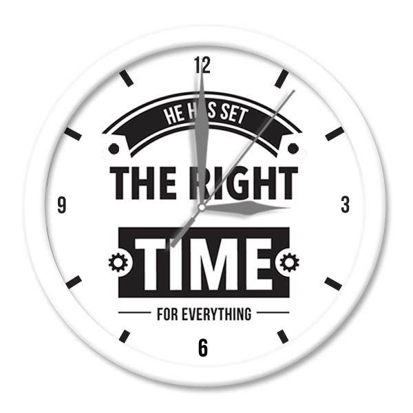 Jam Dinding SWORDS - Time Putih