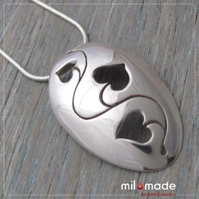 Jewelry Made From Old Silverware | home about collections shop auctions press tutorials blog stockists ...