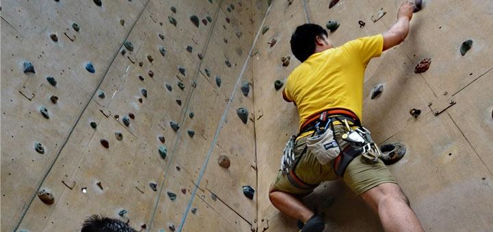 wall climbing at mt buller