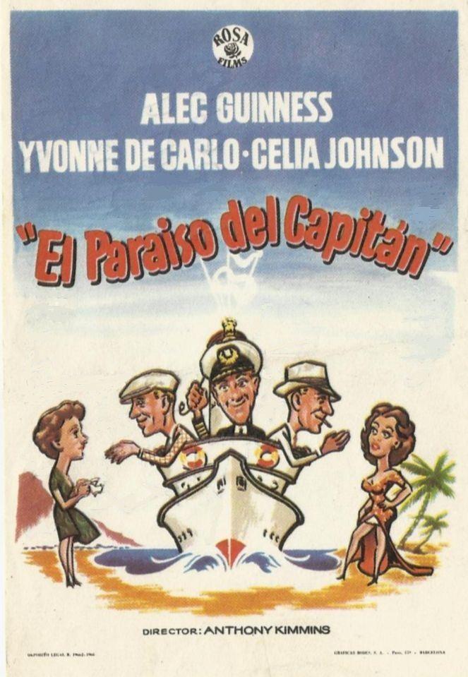 """El paraíso del capitán (1953) """"The Captain's Paradise"""" de Anthony Kimmins - tt0045607"""