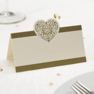 Placeringskort, bordsnummer & taggar