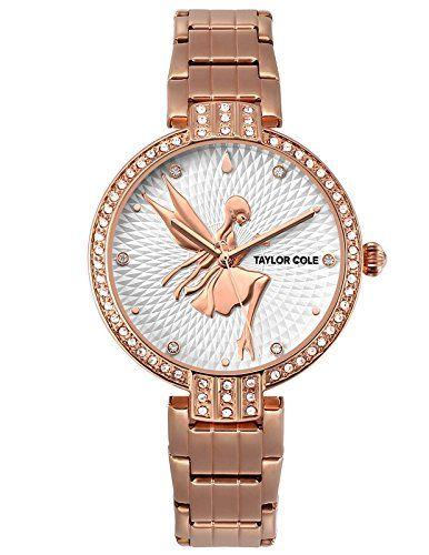 Taylor Cole Women's Quartz Fairy Fashion Design Rose Gold... https://www.amazon.co.uk/dp/B072F1T52V/ref=cm_sw_r_pi_dp_x_E4oGzb7DN1MR2