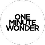 One Minute Wonder - love this concept!