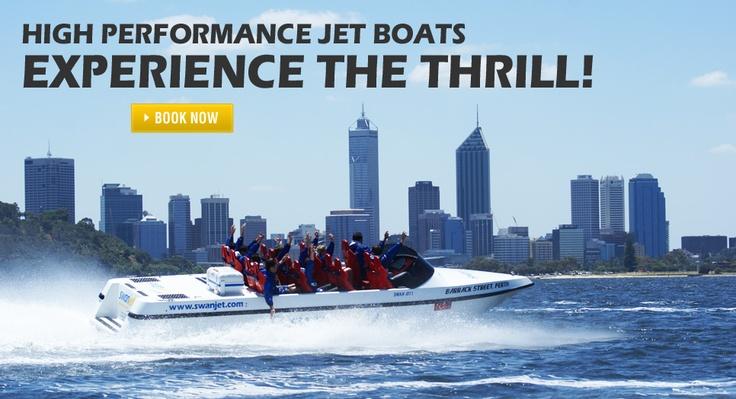 Swan Jet | Jet boat adventures Swan River Perth