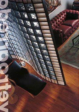 56 best images about brique de verre on pinterest un. Black Bedroom Furniture Sets. Home Design Ideas