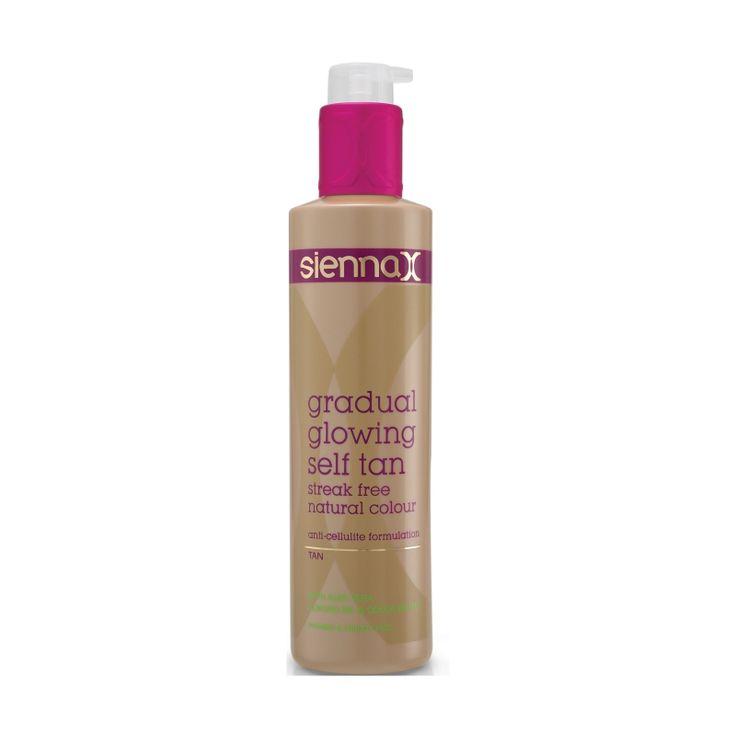 Sienna X Gradual Glowing Self Tan 200ml - feelunique.com
