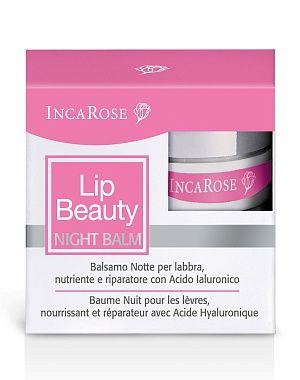 Бальзам для губ ночной восстанавливающий Inca Rose, 5мл