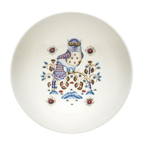 Detailed design meets a simple shape. Iittala Taika White Small Serving Bowl - $65
