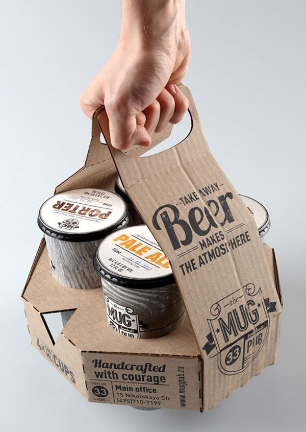 A corrugated solution for packaging your beer.