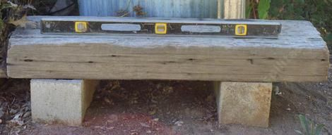 How to build a simple garden bench or seat