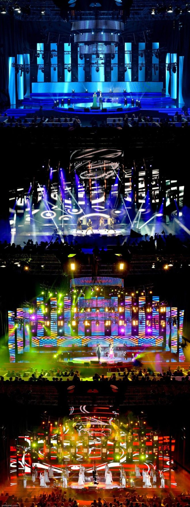 25 Creative and Beautiful Stage Design examples from around the world