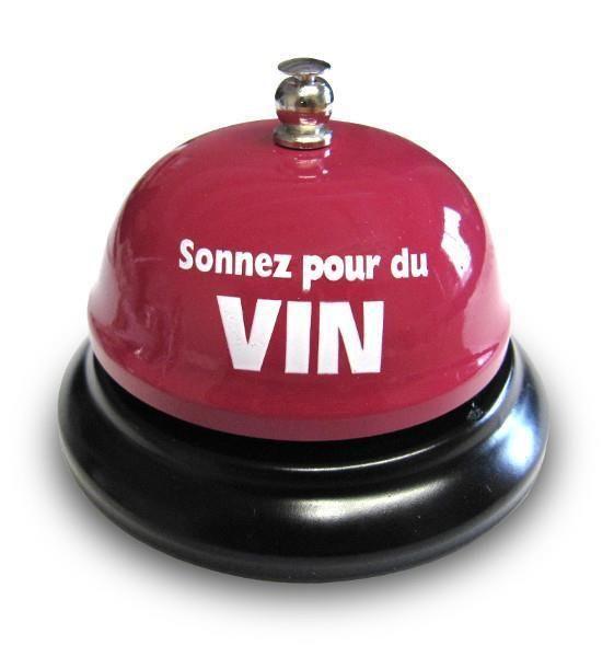 SONNEZ POUR DU VIN cloche de table, sonnez pour du vin, cloche de table, cloche, accessoires bar, bar, idée-cadeau, gadgets, clochette, zaxe, dix30, laval, deco