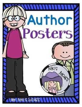 Poster with biography information about favorite children's authors. Eve bunting Tedd Arnold PatricIa Polacco Stan & Jan Berenstain Bill Martin David Shannon Marc Brown Maurice Sendak Nadine Westcott Lois Ehlert Kevin Henkes