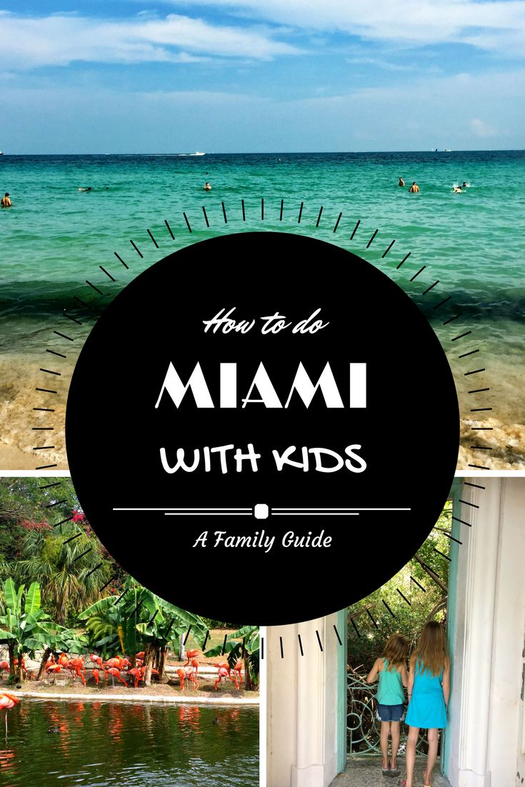 When people think of travel to Miami, kids is not the first thing that comes to mind. But it is actually a very family friendly city! What city on the beach isn't. Here's our top activities to do in Miami with kids in tow.