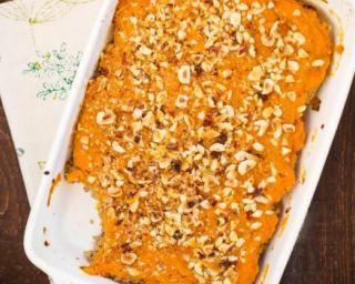 Gratin coquin de cabillaud aux carottes et patates douces : http://www.fourchette-et-bikini.fr/recettes/recettes-minceur/gratin-coquin-de-cabillaud-aux-carottes-et-patates-douces.html