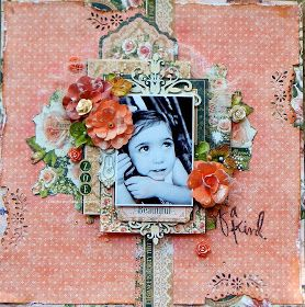 "Hello again!      Sandi Clarkson  here with you today sharing Project #4 with the March Scraps of Elegance Kit ""Hello, Beautiful.""   And w..."