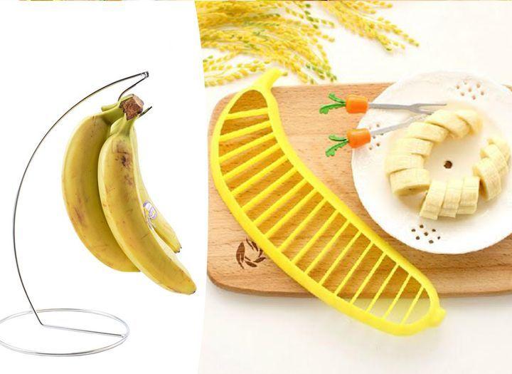 Termékek Kupon - 60% kedvezménnyel - Termékek - Banánérlelő állvány+szeletelő. Kétdarabos konyhai szett most 1.490 Ft helyett 590 Ft-ért!.