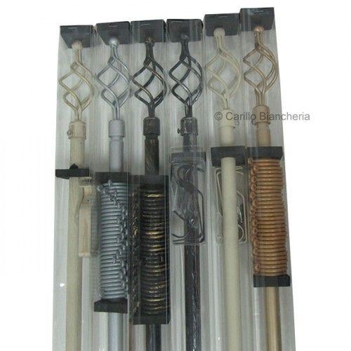 http://www.carillobiancheria.it/bastone-per-tenda-tende-estensibile-da-120-a-210-cm-in-ferro-battuto-l843-15345.html #carillolist