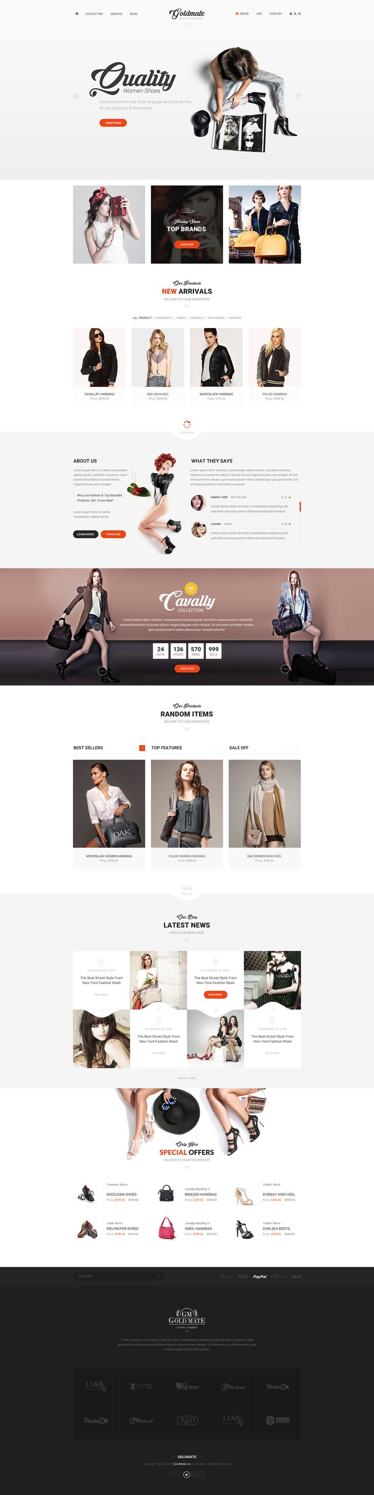 all pages is here : http://themeforest.net/item/goldmate-multipurpose-psd-template/13240434