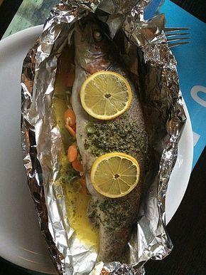 Forelle in der Alufolie, ein leckeres Rezept aus der Kategorie Fisch. Bewertungen: 107. Durchschnitt: Ø 4,4.