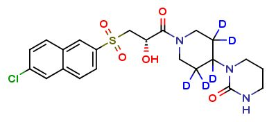 Clearsynth introduces Letaxaban D5. Letaxaban has been used in trials studying the treatment and prevention of Venous Thromboembolism and Acute Coronary Syndrome.