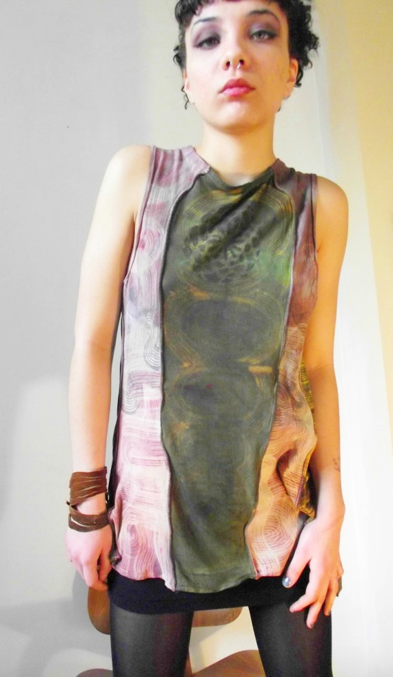 Forest Green and Brown Tribal Jersey Shirt Marbar13 by marbar13, $49.99: Jersey Shirt