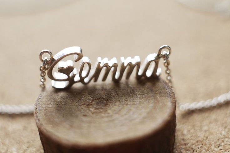 hand make name necklace