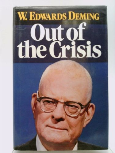 Out of the crisis by w edwards deming