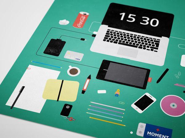 Máte na stole poriadok? Pozrite si milú flat infografiku. - http://detepe.sk/mate-na-stole-poriadok-pozrite-si-milu-flat-infografiku/