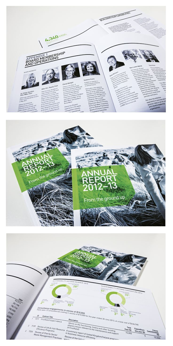 Agency: Wellmark | Client: Sustainability Victoria | Annual Report 2012-3