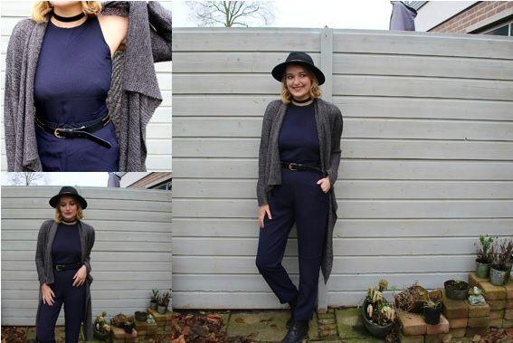 Casual jumpsuit combineren met vest. Inspiratie over jumpsuits doe je op in Ella's nieuwe blog....