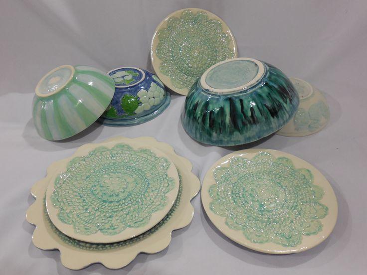 Ceramica de vaciado Platos para torta