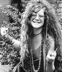 Janis Joplin......the best 60's Hippie!
