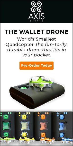 DRONE CENTER: Axis VIDIUS ™ - The World's Smallest FPV Drone™