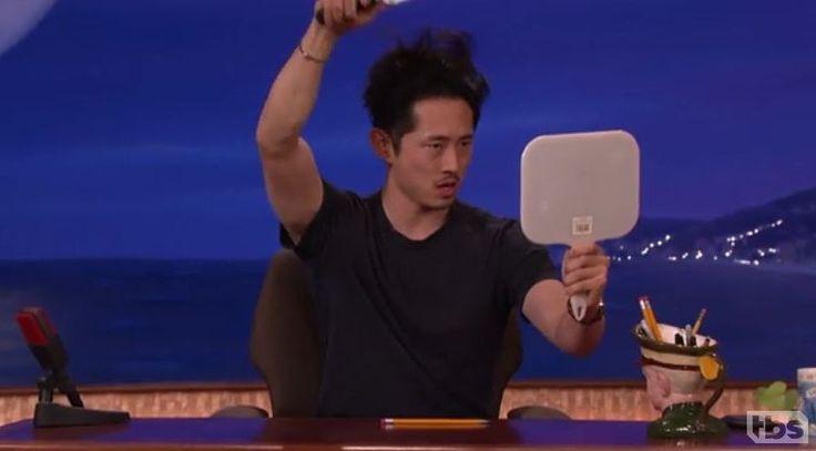 The Walking Dead actor Steven Yeun on Conan - TBS