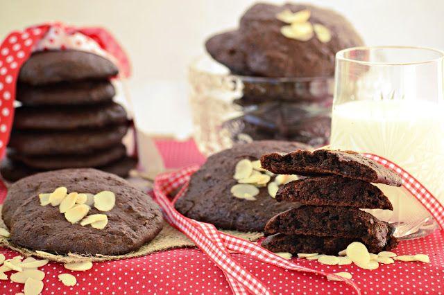 Koskacukor: Segítsüti 2015. Ősz - Mandulás brownie cookies