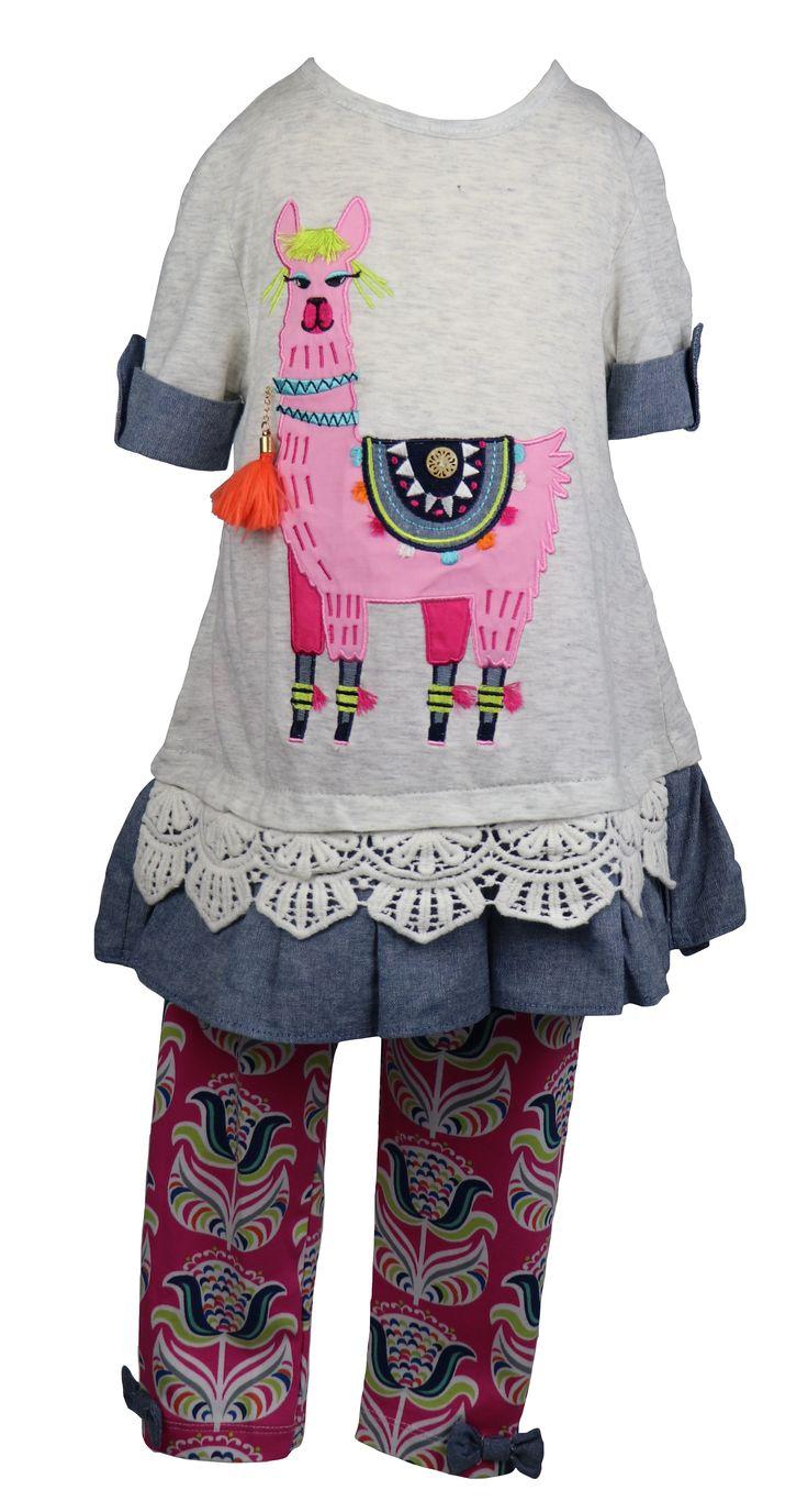 Tolle Mädchenmode gefunden auf Dreamdress.at! Legging Set Lama! #leggingSet, #mädchen, #mädchenmode, #littleFashionista, #girlsfashion, #littlegirl, #childrenClothes