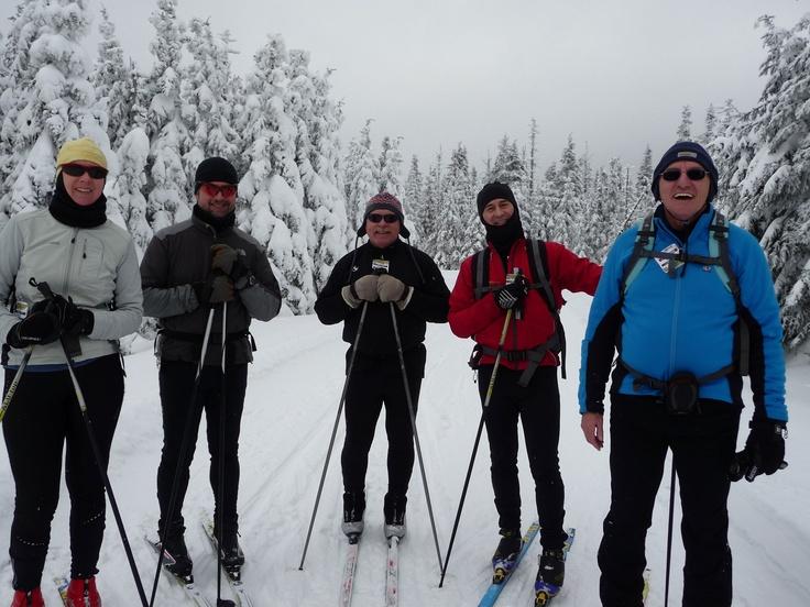 Sur le massif du Sud en ski de fond