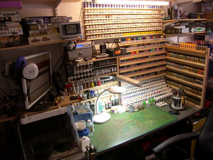 Hobby Room Organization Ideas