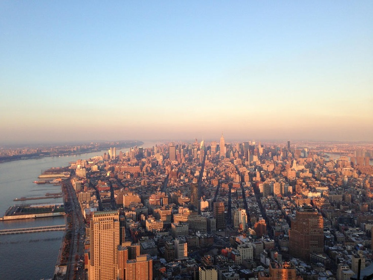 Beautiful Shot From The 104th Floor Of The Freedom Tower