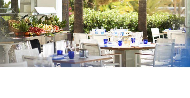 Restaurantes en Marbella   Beach Club & Café   Hotel Puente Romano