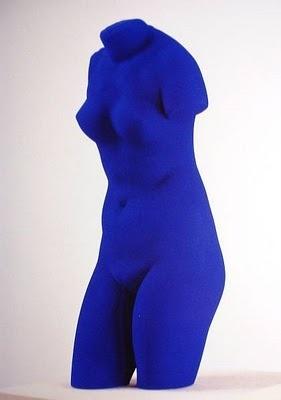 blue venus d ives klein