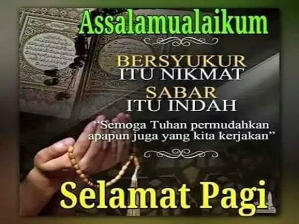 Ucapan Selamat Pagi Islami Kata Kata Motivasi Selamat Pagi Teks Lucu