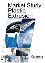 In terms of quantity, extrusion is the most important process in the plastics industry.