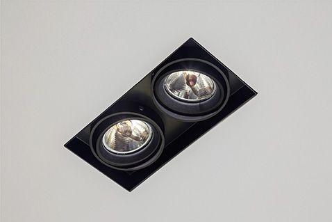 SAMBA NO FRAME Embutido orientável com sistema de giro orbital, com tecnologia LED integrada ou lâmpadas convencionais. Uso interno. Corpo em alumínio com acabamento em pintura pó epóxi por processo eletroestático. Anel antiofuscante e blackout pretos. Os modelos LED incluem driver.  #lightdesignexporlux #lightingdesign #iluminacao #luminarias #lightdesign