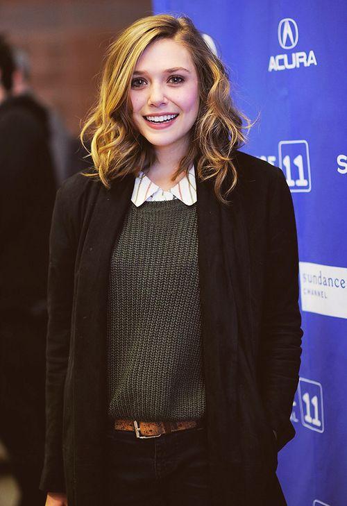 Elizabeth Chase «Lizzie» Olsen es una actriz estadounidense. Es mejor conocida por sus papeles en las películas Avengers: Age of Ultron, Godzilla, Silent House, Liberal Arts y la aclamada Martha Marcy.